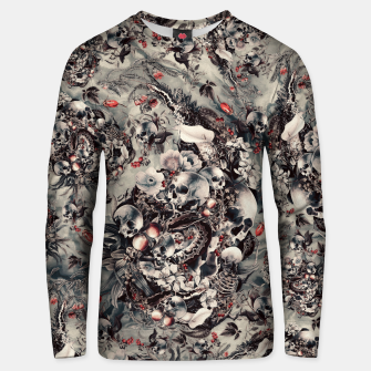 Thumbnail image of Skull Storm Unisex sweater, Live Heroes