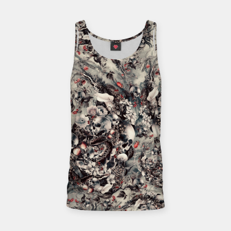 Thumbnail image of Skull Storm Tank Top, Live Heroes
