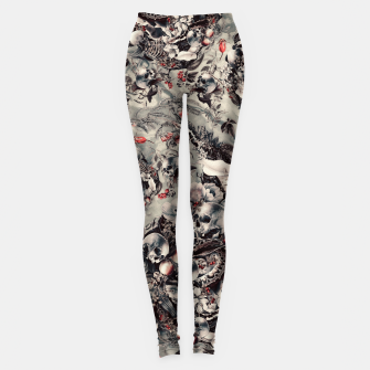 Thumbnail image of Skull Storm Leggings, Live Heroes