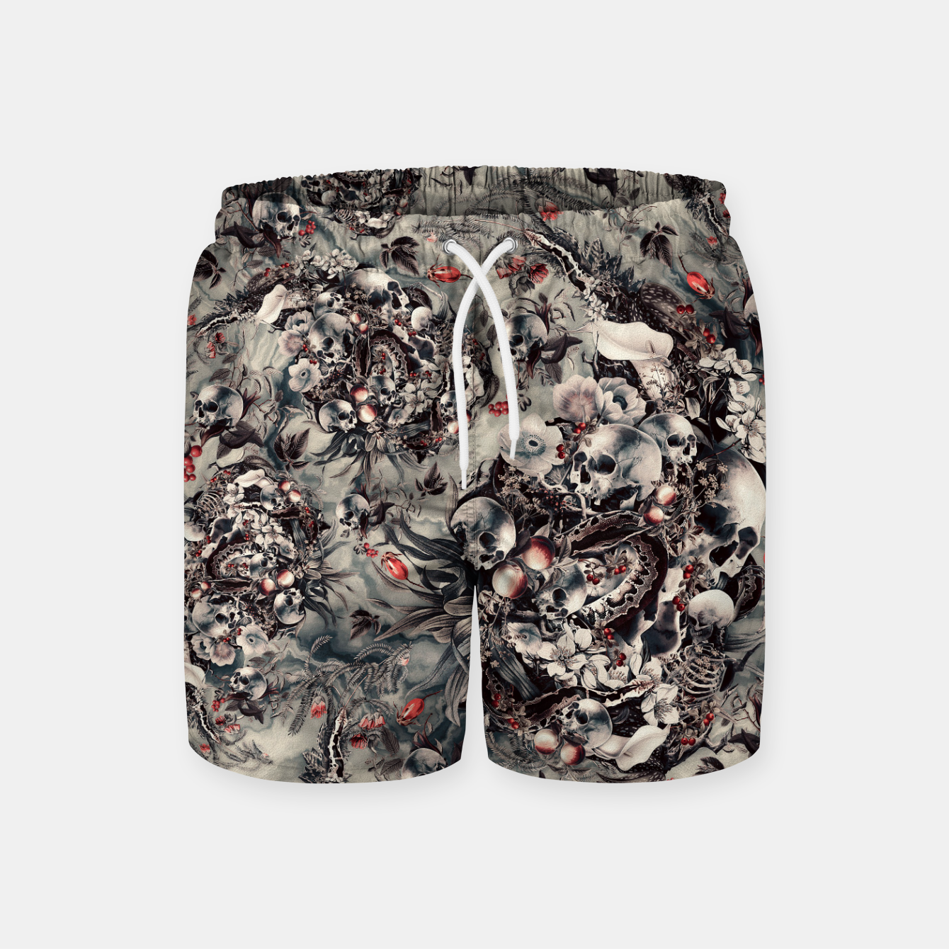 Image of Skull Storm Swim Shorts - Live Heroes