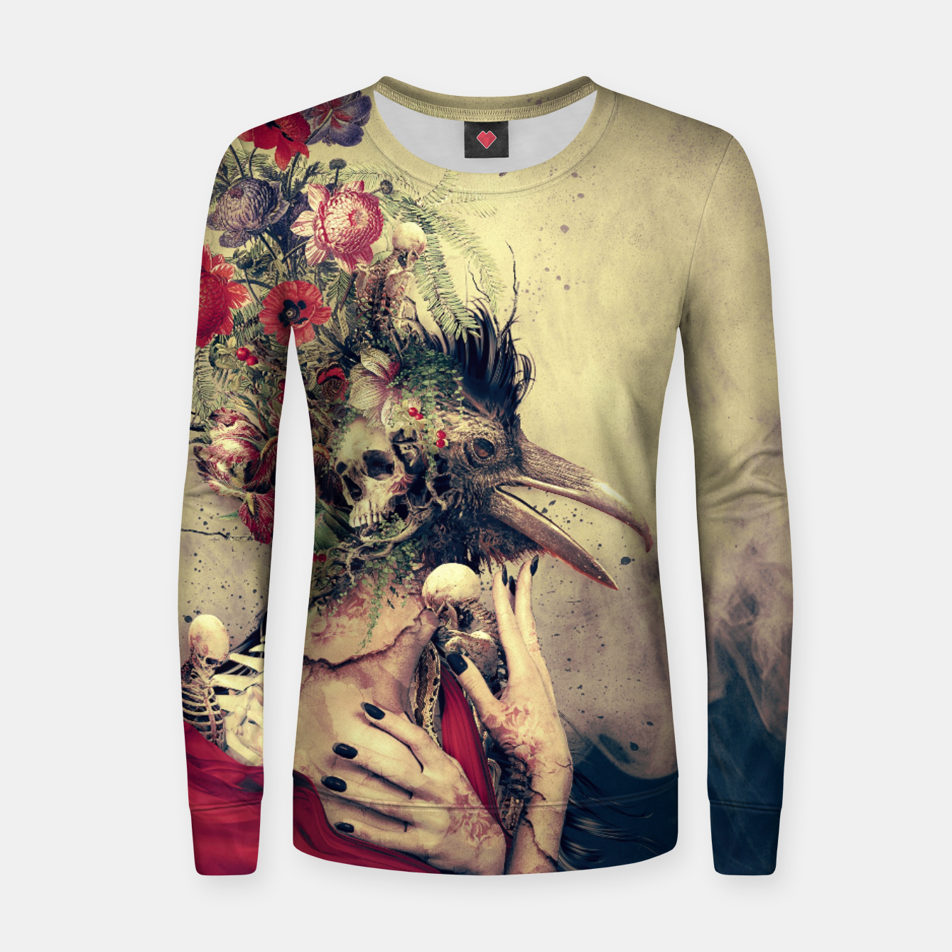 Image of Raven Women sweater - Live Heroes