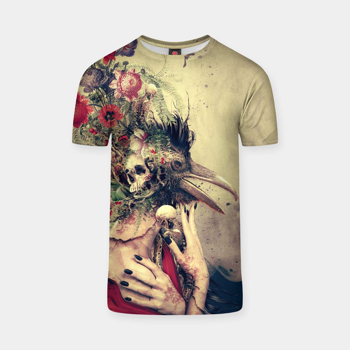 Image of Raven T-shirt - Live Heroes