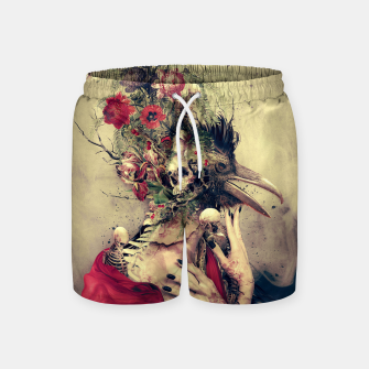 Thumbnail image of Raven Swim Shorts, Live Heroes