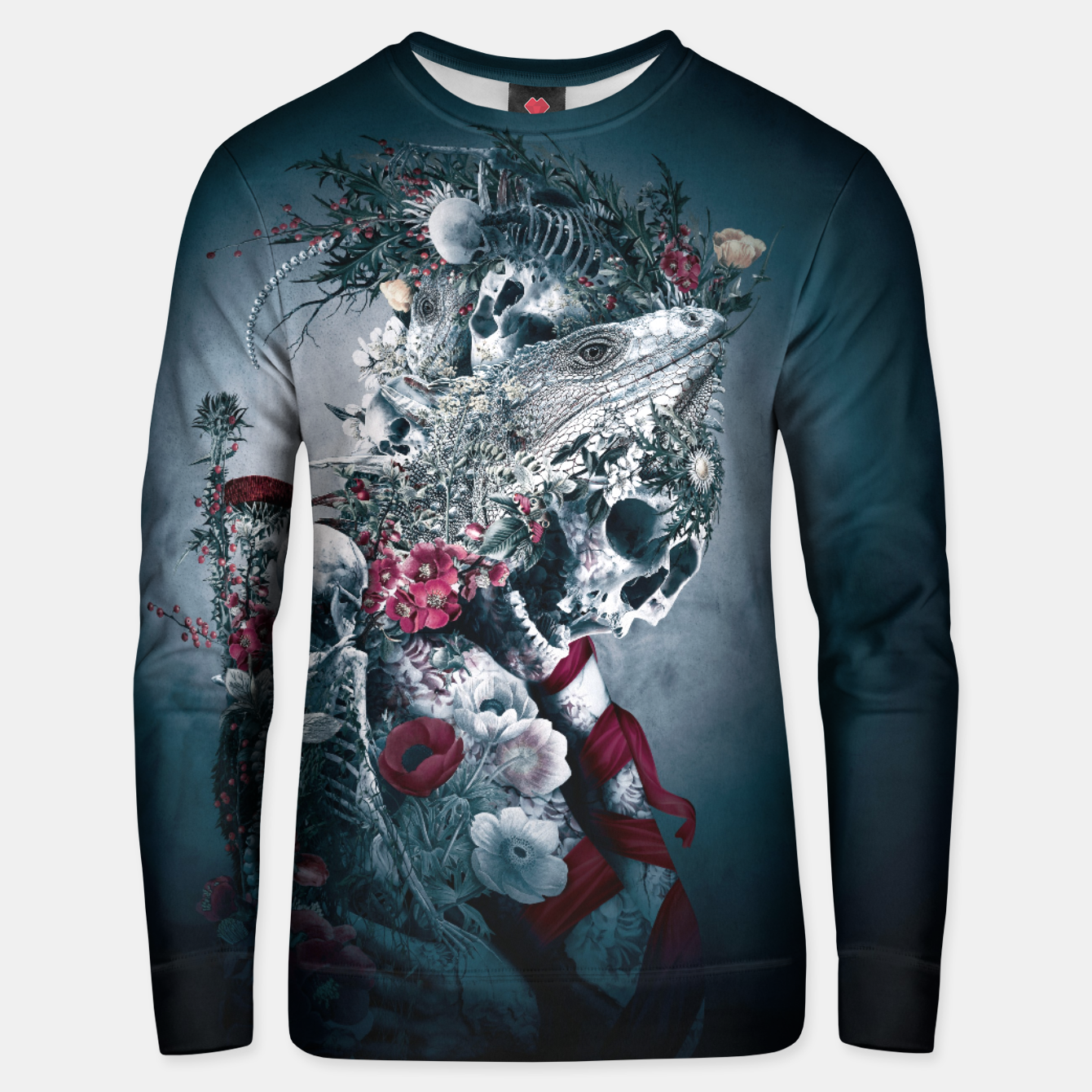 Image of Lizard Dark Unisex sweater - Live Heroes
