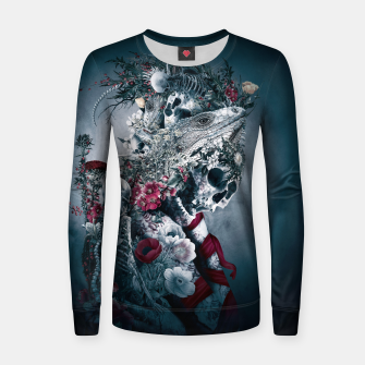 Miniatur Lizard Dark Women sweater, Live Heroes