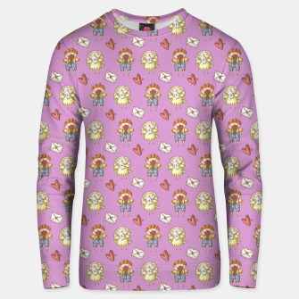 Thumbnail image of  Happy valentine Unisex sweater, Live Heroes
