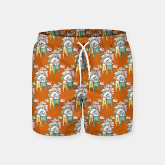 Thumbnail image of Unicorns in love  Swim Shorts, Live Heroes