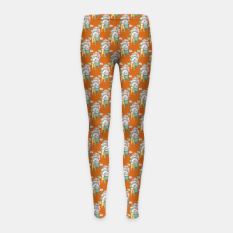 Thumbnail image of Unicorns in love  Girl's leggings, Live Heroes