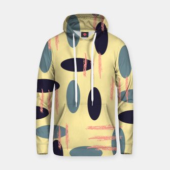 Thumbnail image of Mid century modern abstract shapes pattern Hoodie, Live Heroes