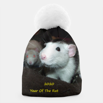 Thumbnail image of 2020 Year Of The Rat beanie, Live Heroes