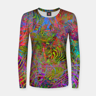 Thumbnail image of New Year's Vibrations Women sweater, Live Heroes