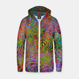 New Year's Vibrations Zip up hoodie Bild der Miniatur
