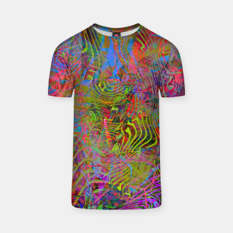 New Year's Vibrations T-shirt Bild der Miniatur