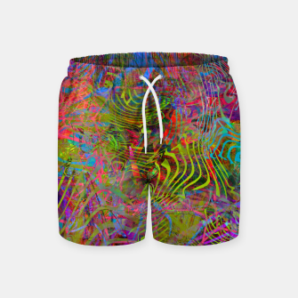 Thumbnail image of New Year's Vibrations Swim Shorts, Live Heroes