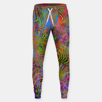 New Year's Vibrations Sweatpants Bild der Miniatur
