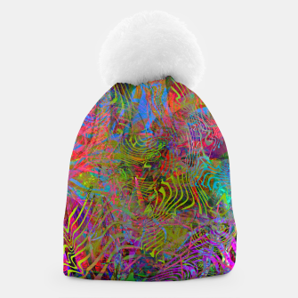 New Year's Vibrations Beanie Bild der Miniatur
