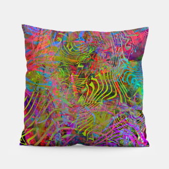 Miniatur New Year's Vibrations Pillow, Live Heroes