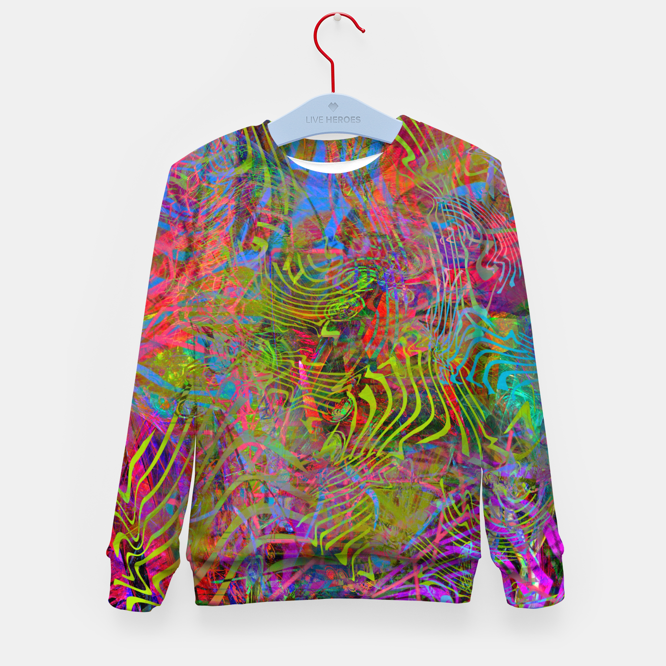 Image of New Year's Vibrations Kid's sweater - Live Heroes