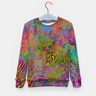 New Year's Vibrations Kid's sweater Bild der Miniatur