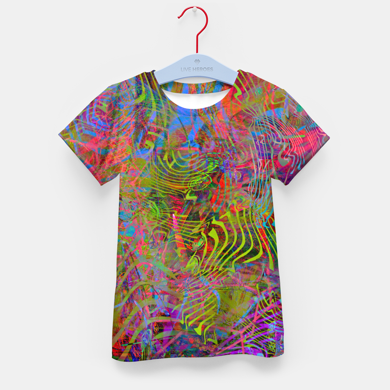 Image of New Year's Vibrations Kid's t-shirt - Live Heroes