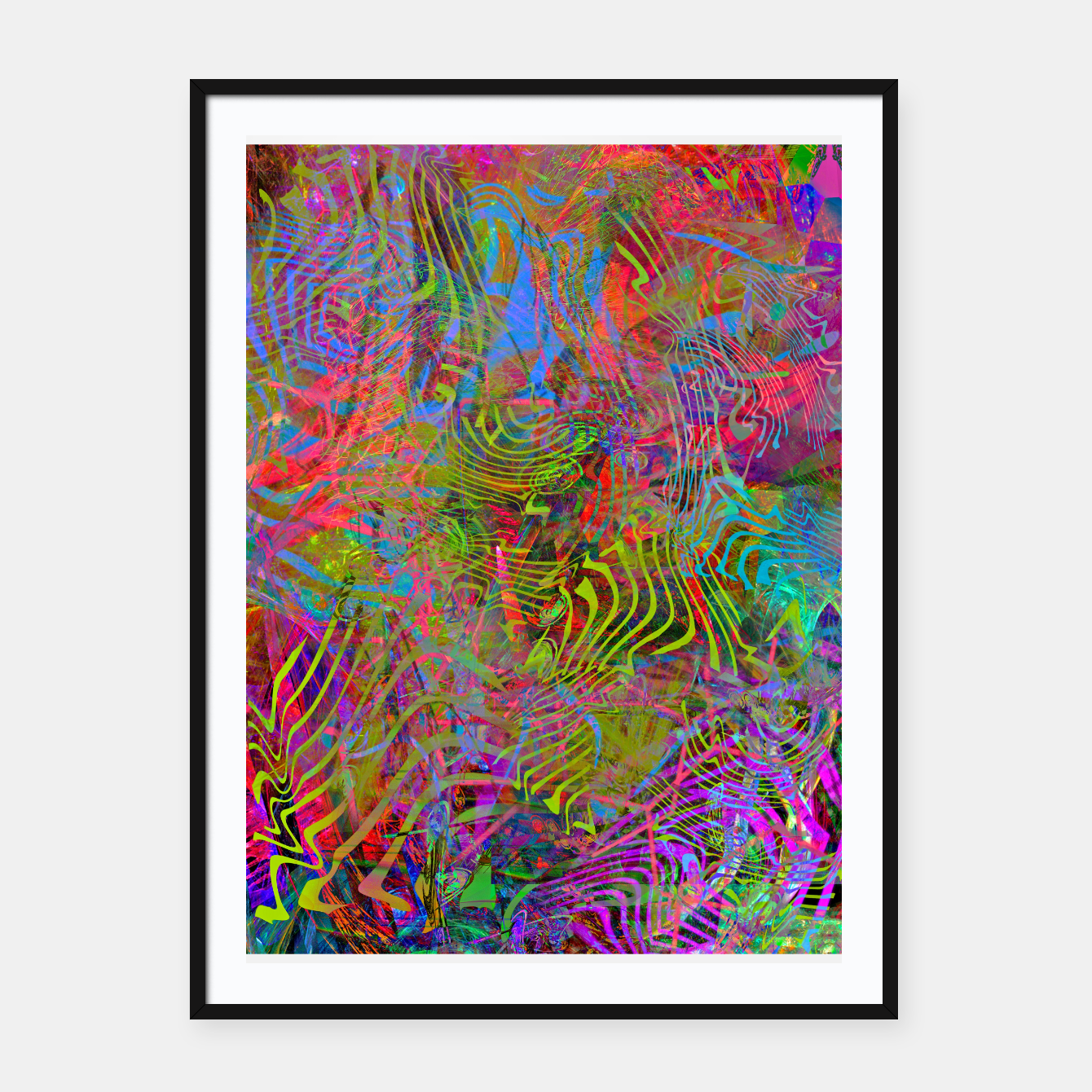 Image of New Year's Vibrations Framed poster - Live Heroes