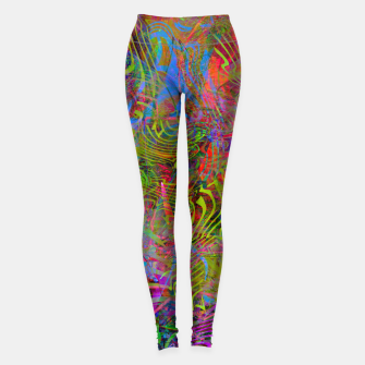 New Year's Vibrations Leggings Bild der Miniatur