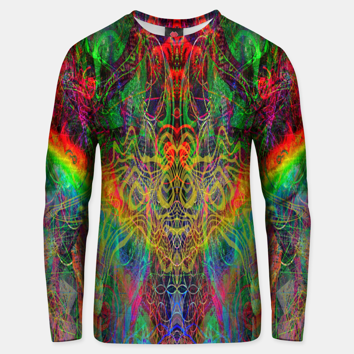 Foto Dragon Rainbow Exhalation Unisex sweater - Live Heroes