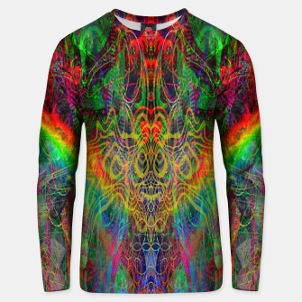 Dragon Rainbow Exhalation Unisex sweater Bild der Miniatur