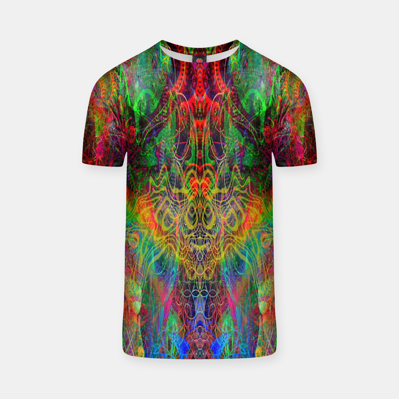 Image of Dragon Rainbow Exhalation T-shirt - Live Heroes