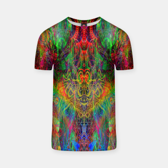 Dragon Rainbow Exhalation T-shirt Bild der Miniatur