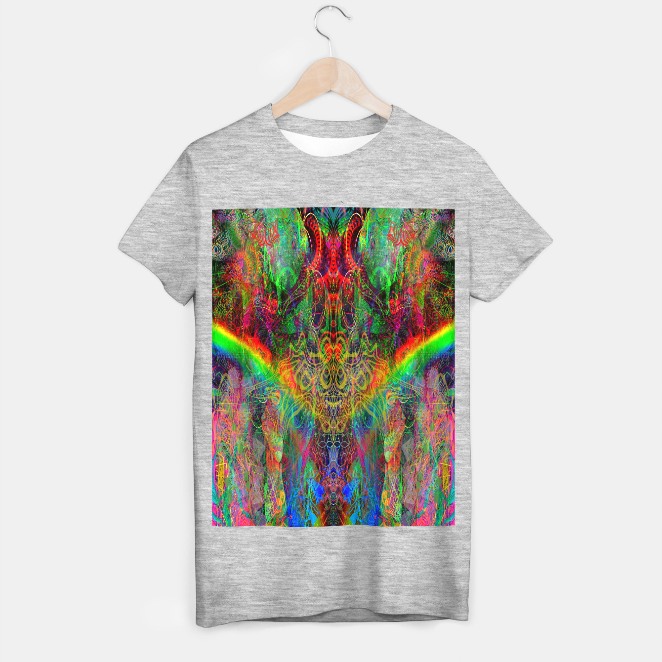 Image of Dragon Rainbow Exhalation T-shirt regular - Live Heroes