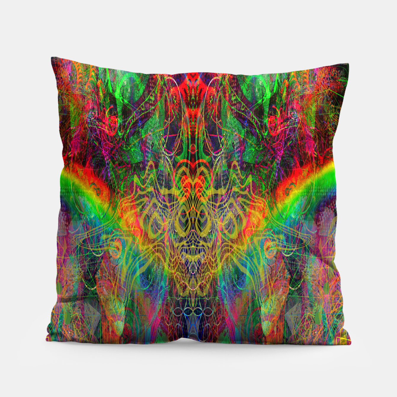 Image of Dragon Rainbow Exhalation Pillow - Live Heroes
