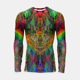 Thumbnail image of Dragon Rainbow Exhalation Longsleeve rashguard , Live Heroes