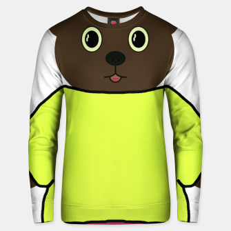 Thumbnail image of Home of the cartoon bears Unisex sweater, Live Heroes