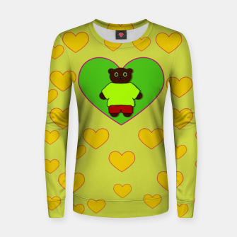 Home of the cartoon bears Women sweater thumbnail image