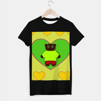 Home of the cartoon bears T-shirt regular thumbnail image