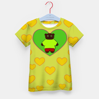 Home of the cartoon bears Kid's t-shirt thumbnail image