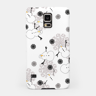 Thumbnail image of Snowman Pattern Samsung Case, Live Heroes
