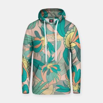 Thumbnail image of Abstract summer flowers Hoodie, Live Heroes