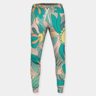 Thumbnail image of Abstract summer flowers Sweatpants, Live Heroes