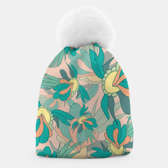 Thumbnail image of Abstract summer flowers Beanie, Live Heroes