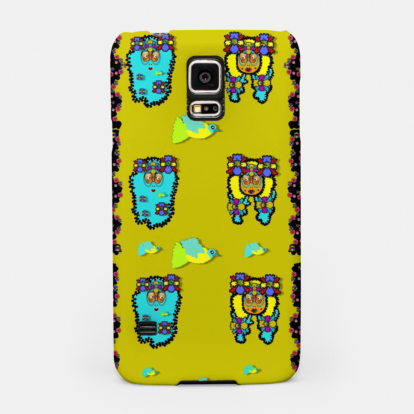 Foto peace people hippie friends and free living fauna  Samsung Case - Live Heroes