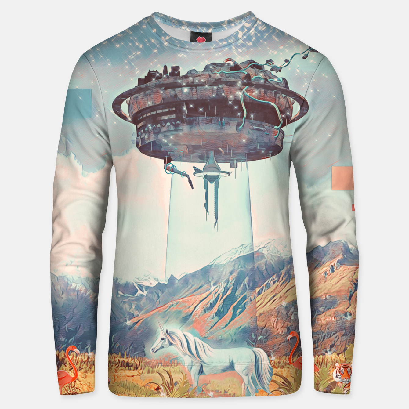 Image of Take me too Unisex sweater - Live Heroes
