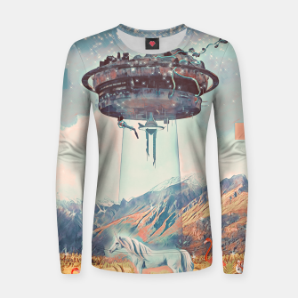 Thumbnail image of Take me too Women sweater, Live Heroes