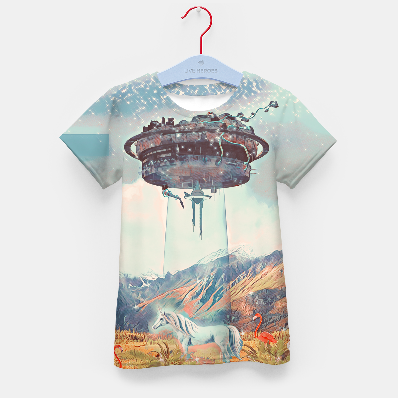 Imagen de Take me too Kid's t-shirt - Live Heroes