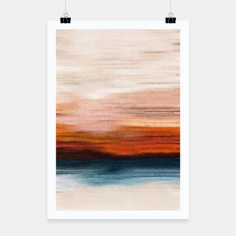 Thumbnail image of Sunset painting watercolor, Live Heroes