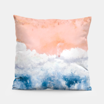 Thumbnail image of Pink Beach Pillow, Live Heroes