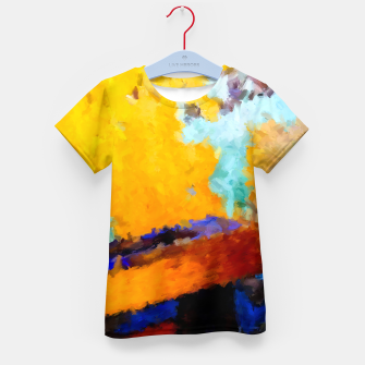 Thumbnail image of Abstract Kid's t-shirt, Live Heroes