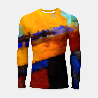 Thumbnail image of Abstract Longsleeve rashguard, Live Heroes