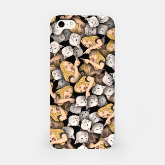 Thumbnail image of Woman Yelling at a Cat iPhone Case, Live Heroes